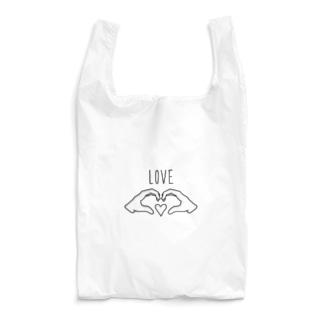 ハンドLOVE Reusable Bag