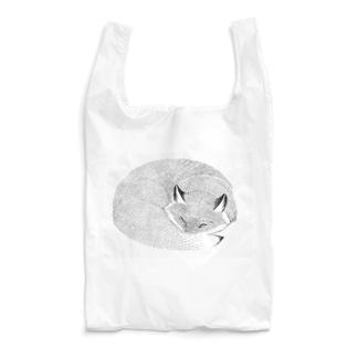 ねたふりきつね Reusable Bag