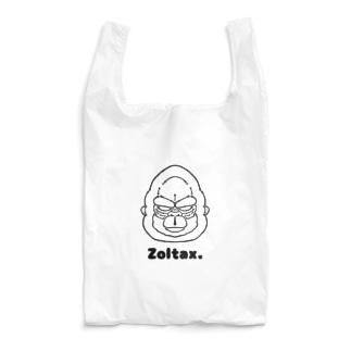 ゴリラ•ゴリラ•ゴリラ(黒) Reusable Bag