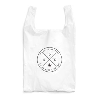 R.K.K (RELAX KEEP KINGDOM)黒 Reusable Bag