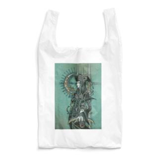 翡翠の空が花月を遵えて Reusable Bag