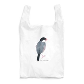 たそがれ桜文鳥 Reusable Bag