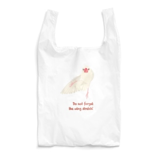 Do not forget  the wing stretch!(ダーク用) Reusable Bag