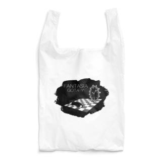 FANTASIA~黒猫と時計~ Reusable Bag