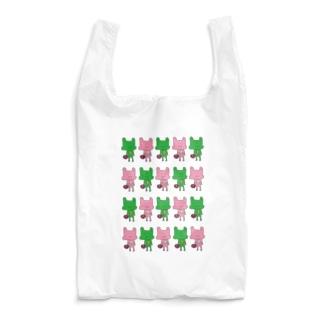 かえるいっぱい Reusable Bag
