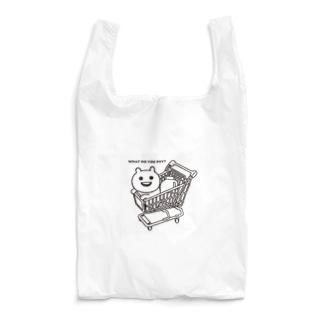 カートに乗るマエバサン Reusable Bag
