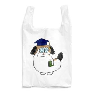 もじゃまる博士 Reusable Bag