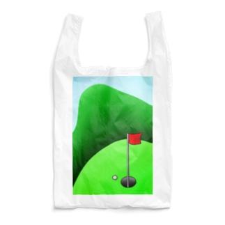長くのびるゴルフ場 Reusable Bag