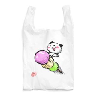 3色団子パンダ Reusable Bag