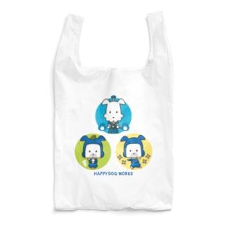 忍者犬&武士犬_集合 Reusable Bag