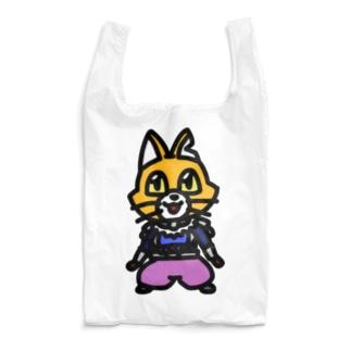 キャットC「棒立ち」 Reusable Bag