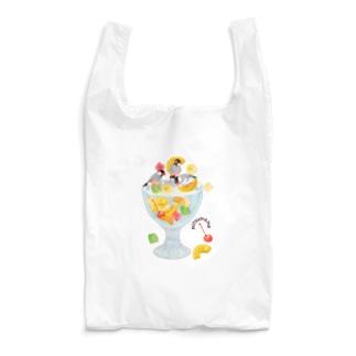 みつ豆桜文鳥 Reusable Bag