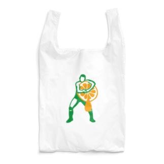 ヘッドロックみかん搾り Reusable Bag