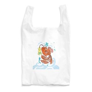 跳ね金魚 Reusable Bag