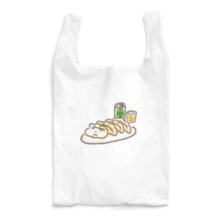 餃子ビール(カラフル) Reusable Bag