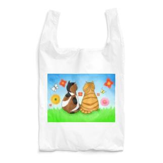 仲良し猫さん Reusable Bag