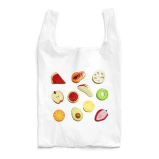 粘土のフルーツ Reusable Bag