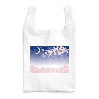 春の夜の Reusable Bag