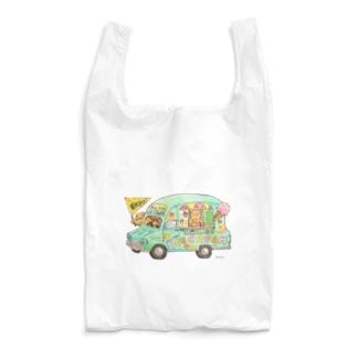 めろんぽっぷのお店だよのKU-MA アイスクリーム号 Reusable Bag