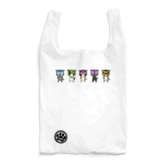 猫ルチャドーラーズ Reusable Bag