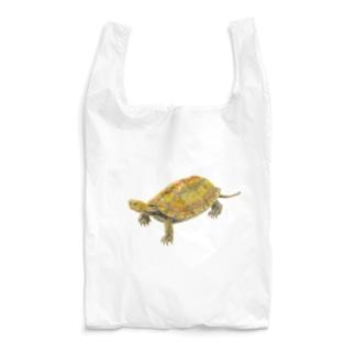 めろんぽっぷのお店だよのここにいるよ、ニホンイシガメ Reusable Bag