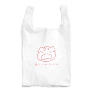 BUTAMAN(ピンク) Reusable Bag