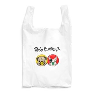 わんこバッチ Tシャツ Reusable Bag