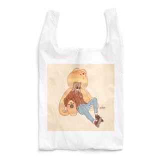 くまガール Reusable Bag