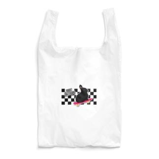 れなしやのラビットスケボー Reusable Bag