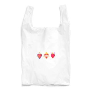 メキシコのハートモチーフ♥️ Reusable Bag