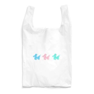 balloonイヌ Reusable Bag