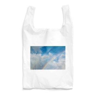 Two rainbows Reusable Bag