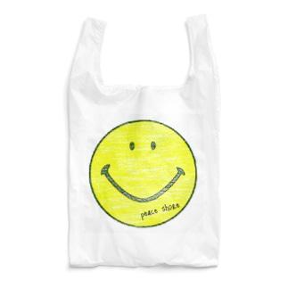 peace shore smile Reusable Bag