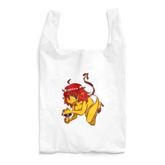 悪魔っぽい子 Reusable Bag