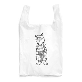 おじさまネコ(クラゲ) Reusable Bag