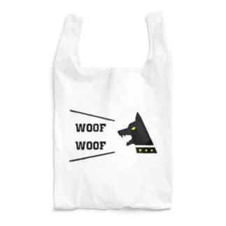 吠える犬は噛まない Reusable Bag