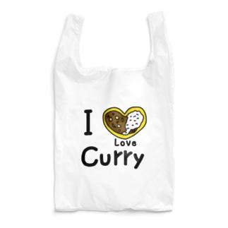 I Love カレー Reusable Bag