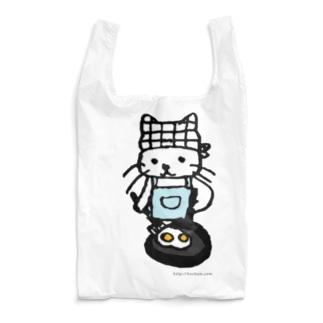 めだまやきやくねこ Reusable Bag