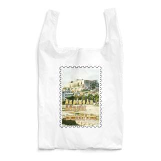 ギリシャ:アテネのアクロポリス★白地の製品だけご利用ください!! Acropolis of Athens/Greece★Recommend for white base products only !! Reusable Bag