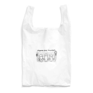 サウナ好きのカワウソたち Reusable Bag