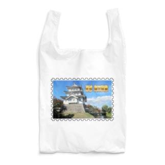 日本の城:忍城★白地の製品だけご利用ください!! Japanese castle: Oshi Castle/ Gyoda★Recommend for white base products only !! Reusable Bag