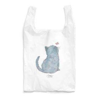 うしろネコさん Reusable Bag