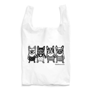 frenchbulldog4 Reusable Bag