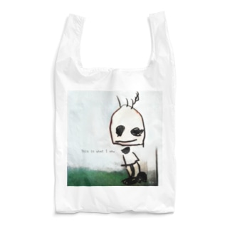 This is what I am. ありのままに生きる。 Reusable Bag