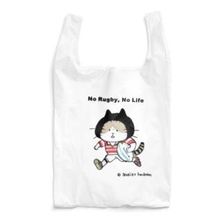 ラグビーねこ Reusable Bag