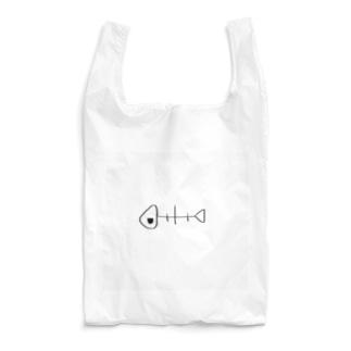 じとめさかな Reusable Bag