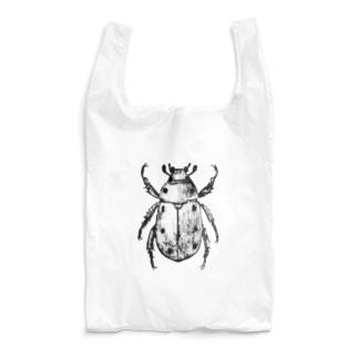 コガネムシ(黒ver.) Reusable Bag