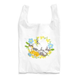 ねむねむコーギー(色違い) Reusable Bag