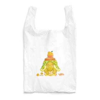 めろんぽっぷのお店だよのこたつカメのこたろー 緑 Reusable Bag