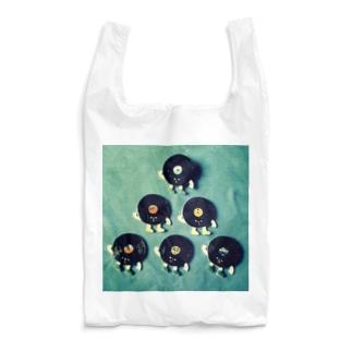 gyunyuyaのレコードくんたち Reusable Bag